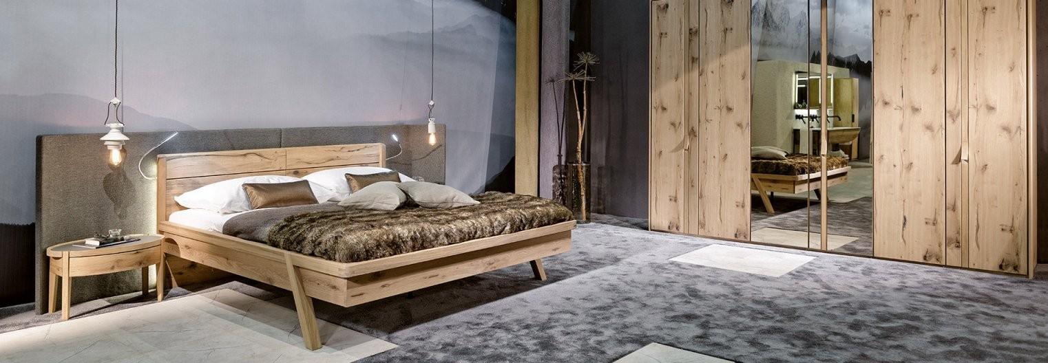 Vvaganto  Products  Furniture  Voglauer von Voglauer Bett V Pur Bild