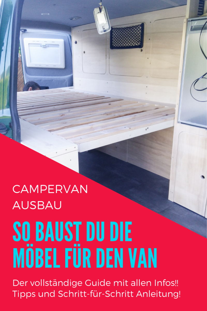 Vw T5 Ausbau  Möbelausbau Für Den Vw Bus  Camping  Camper Van von Camping Möbel Selber Bauen Photo