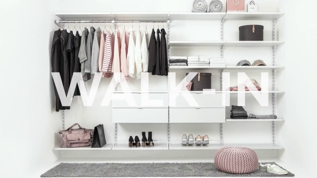 Walkin Regalsystem Offener Kleiderschrank  Youtube von Regalsystem Kleiderschrank Selber Bauen Bild