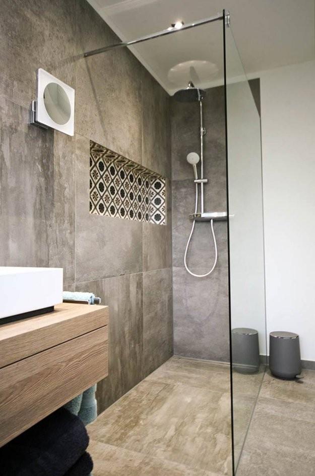 Walkinduschen In Topdesign 15 Beispiele Die Beeindrucken von Mosaik Fliesen Dusche Reinigen Bild