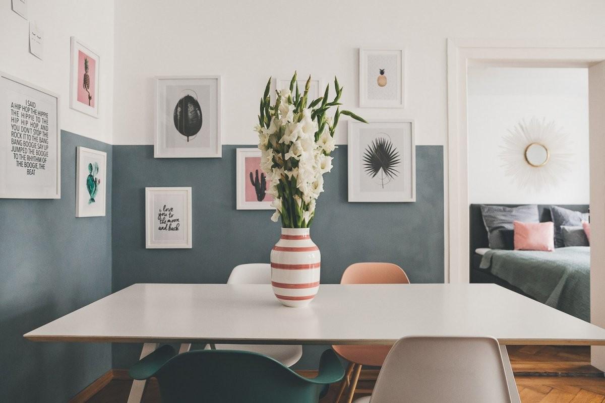 Wand Design Halb Streichen2  Josie Loves von Ideen Zum Wände Streichen Photo