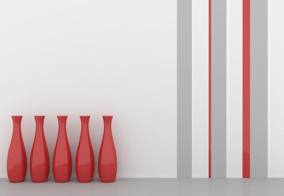 Wand Streichen Ideen Für Muster Farben  Streifen von Streifen An Der Wand Bild
