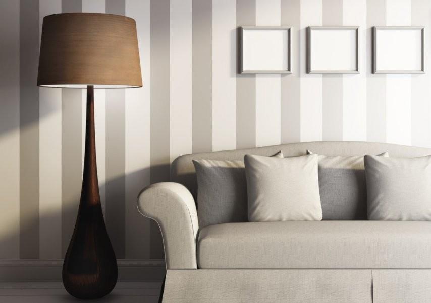 Wand Streichen Ideen Für Muster Farben  Streifen von Wand Streichen Muster Streifen Bild