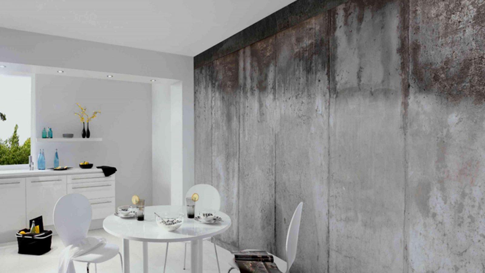Wände Gestalten Trends Bei Tapeten Und Farben  Wohnglück von Wände Streichen Ohne Tapete Bild