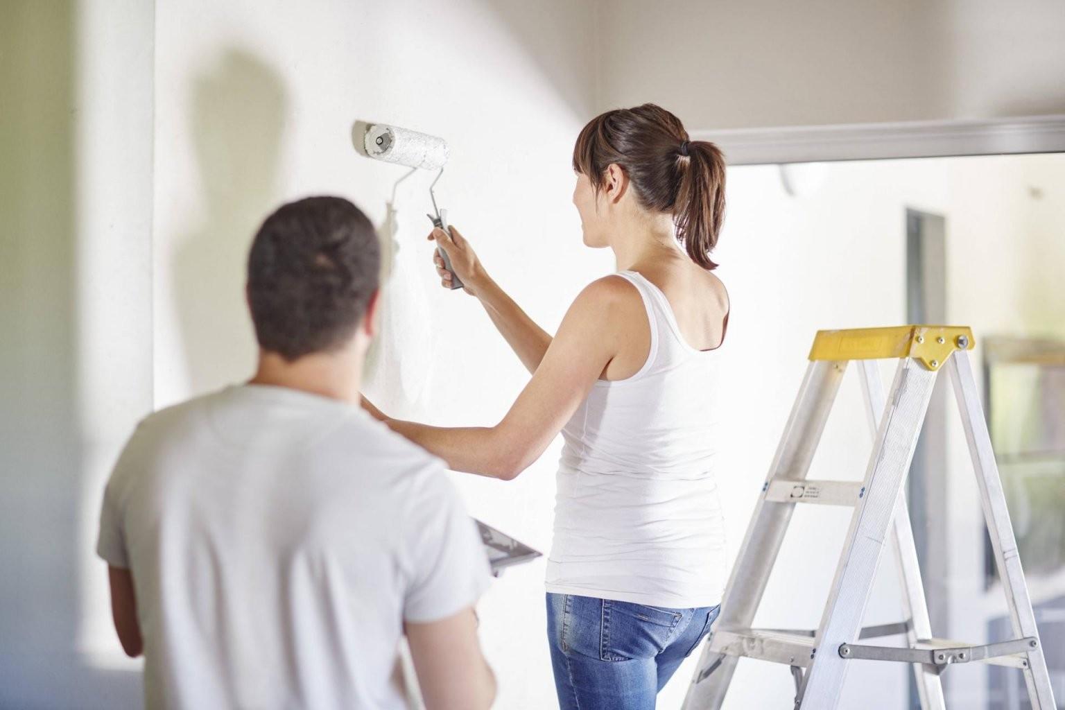 Wände Richtig Streichen Die Besten Tipps Von Profis von Wände Streichen Ohne Tapete Bild