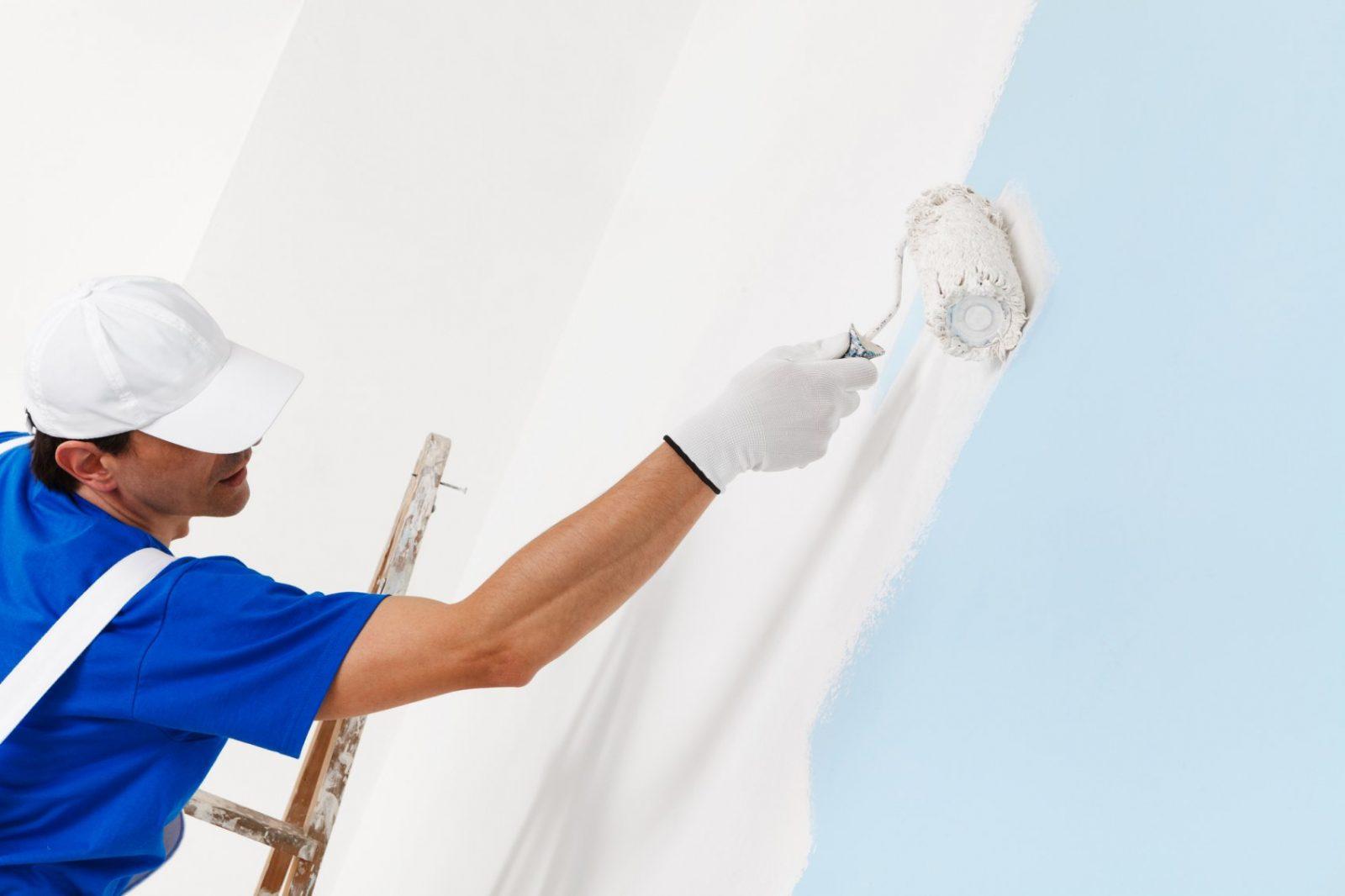 Wände Streichen Kosten Im Überblick Pro Quadratmeter  Stundenlohn von Wohnung Streichen Lassen Kosten Bild