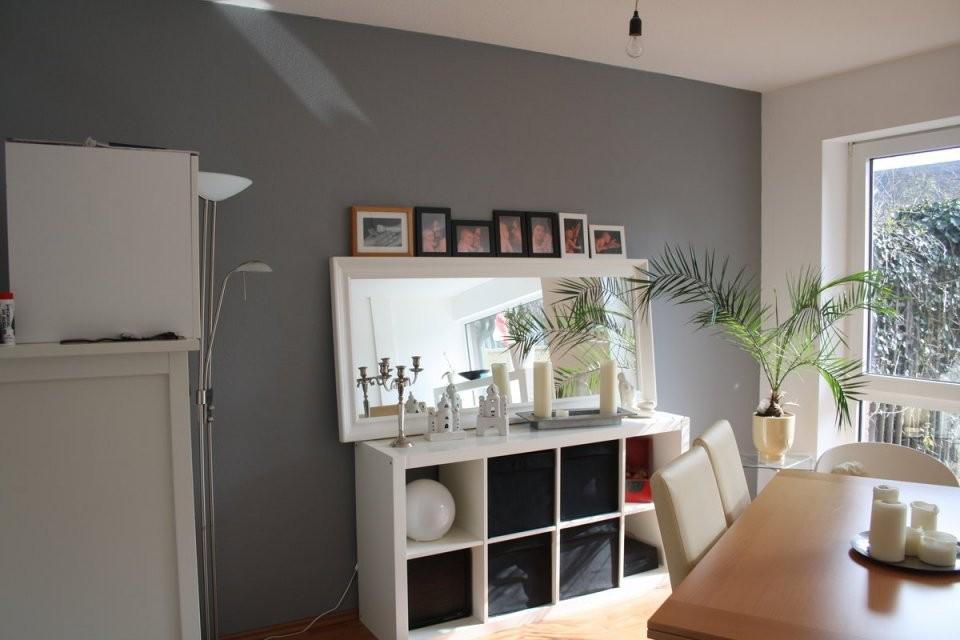 Wände Streichen Von Silber Bis Anthrazit  Solebich von Wohnzimmer Grau Weiß Streichen Photo