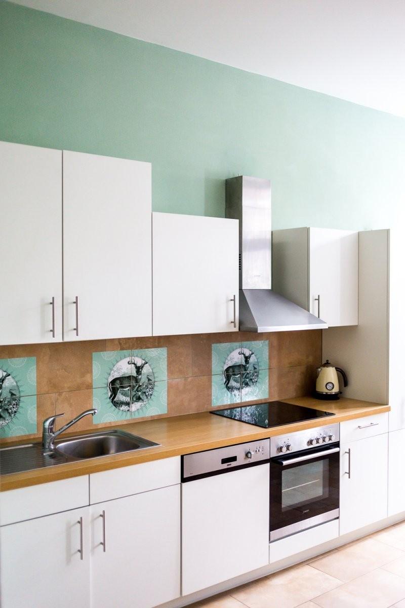 Wandfarbe Grau Blau Schöner Wohnen von Schöner Wohnen Farbe Jade Photo