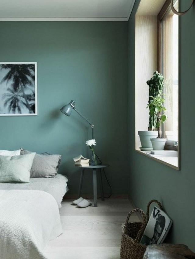 Wandfarben Ideen Für Innen Und Außen  45 Farbideen  Wohnen  Grüne von Wohnzimmer Wände Streichen Ideen Bild