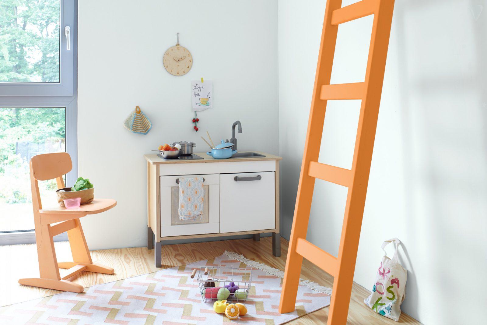 Wandgestaltung In Babyzimmer Und Kinderzimmer von Wandgestaltung Kinderzimmer Mit Farbe Bild