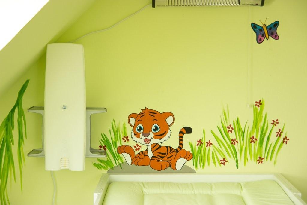 Wandgestaltungkinderzimmerdschungelselbermachen (2)  Mission von Wandgestaltung Kinderzimmer Selber Machen Photo