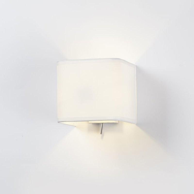 Wandleuchte Ashino Weiß E14 Mit Schalter  Astro  1166001  Click von Wandlampe Mit Schalter Ikea Bild