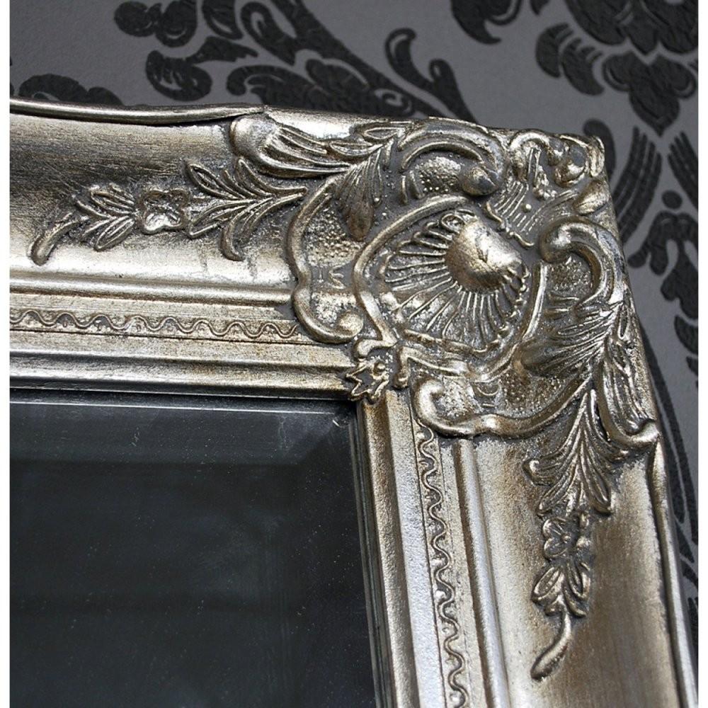 Wandspiegel Barock Silber Online Kaufen  Meinwohnstyle von Barock Spiegel Silber Groß Bild