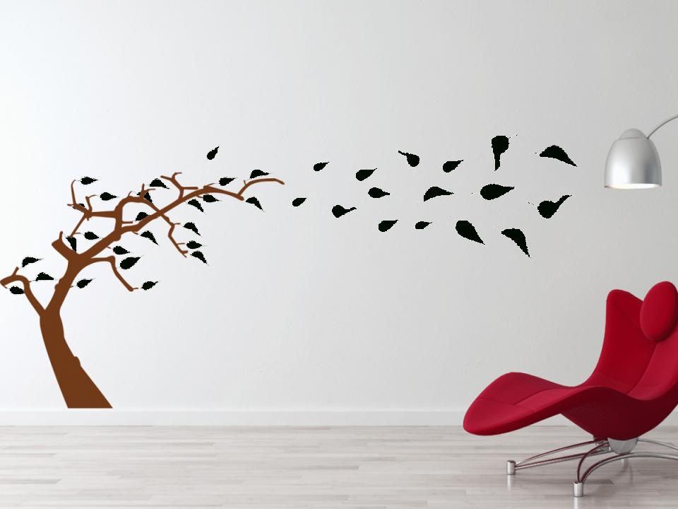 Wandtattoo Baum Im Wind – Tocut von Wandtattoo Baum Im Wind Photo