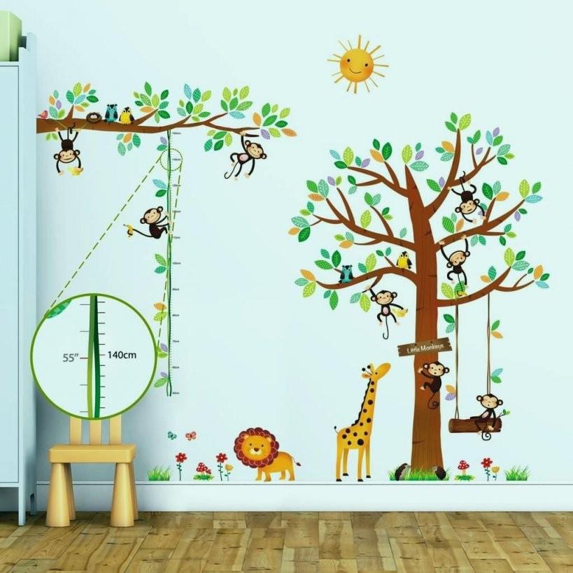 Wandtattoo Kinderzimmer Tiere Fantastisch Wandtattoo Tiere von Wandtattoo Kinderzimmer Junge Tiere Bild