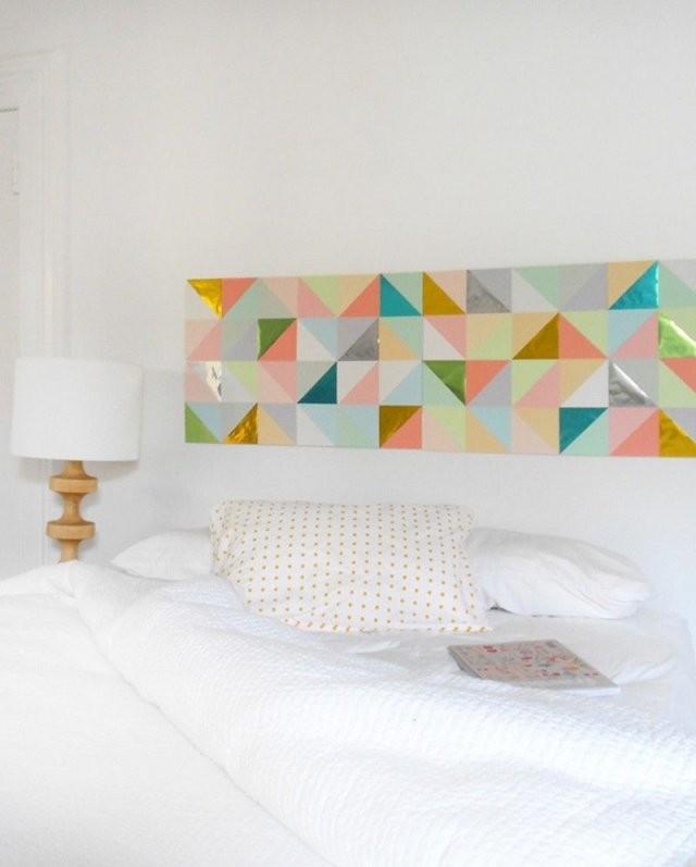 Wandtattoo Selber Machen Idee Für Schlafzimmer  Diy Und von Wandtattoo Schlafzimmer Selber Malen Bild