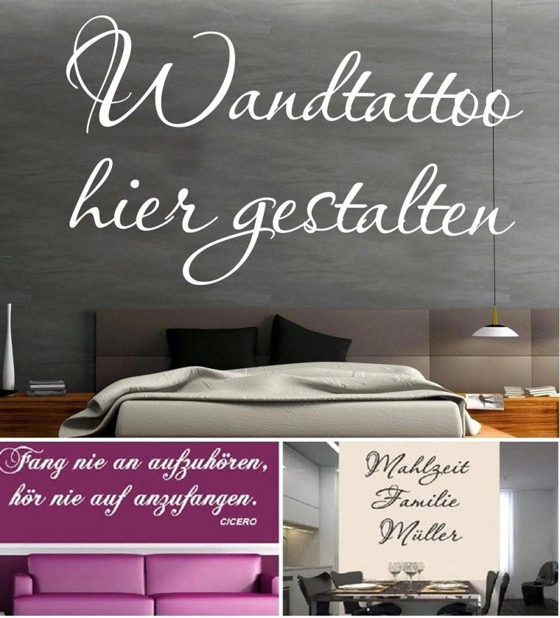 Wandtattoo Selbst Gestalten  Sprüche Wandtattoos Günstig Designen ✓ von Wandtattoo Selber Gestalten Mit Fotos Photo
