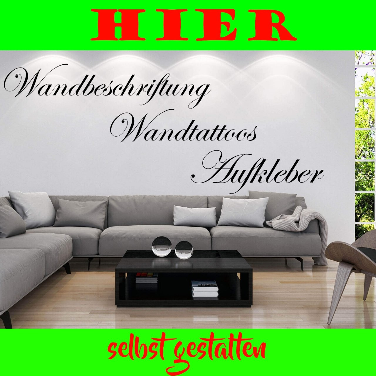 Wandtattoo Selbst Gestalten Text Nach Wunsch Wandaufkleber Namen von Wandtattoo Selber Gestalten Mit Fotos Bild