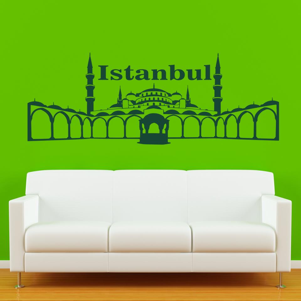 Wandtattoo Sultan Ahmet Camii Als Wandtattoo Istanbul  Einzigartig von Eigenes Foto Als Wandtattoo Photo