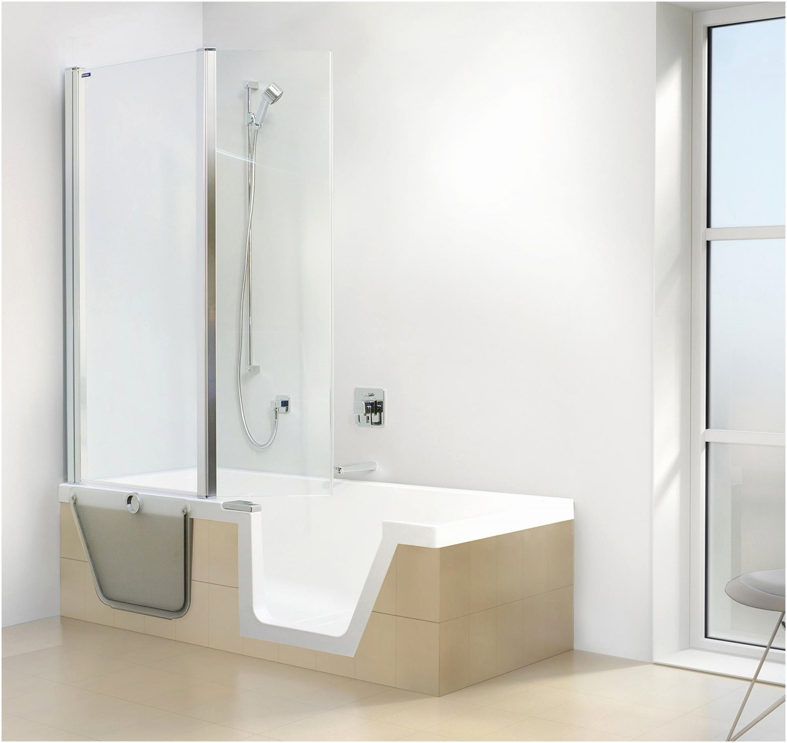 Wanne Zur Dusche Kosten Die Neueste Dusche Umbauen Ebenerdig Kosten von Badsanierung Kosten Pro Qm Photo