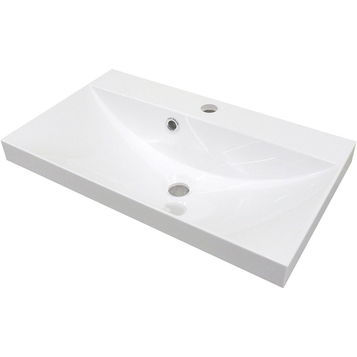 Waschbecken Kaufen  In Großer Auswahl Bei Obi von Waschbecken Tiefe 35 Cm Bild