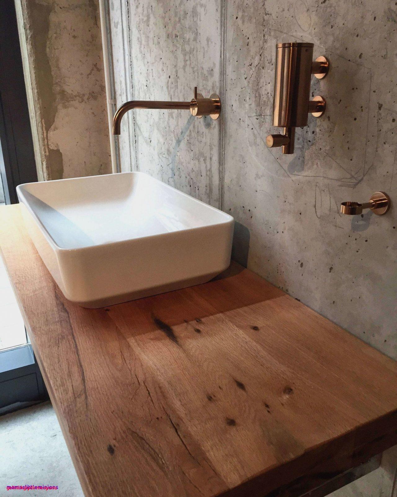 Waschbeckenunterschrank Selber Bauen Anleitung  Dekorieren Bei Das Haus von Bad Unterschrank Selber Bauen Bild
