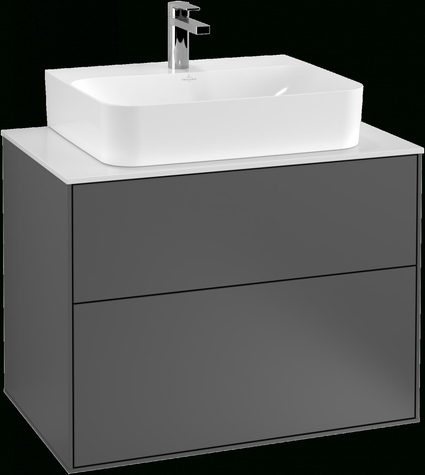 Waschbeckenunterschränke Markenqualität Villeroy  Boch von Aufsatzwaschbecken Mit Unterschrank Stehend Bild