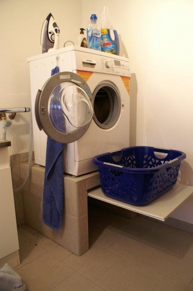 Waschmaschine Podest von Waschmaschinen Podest Selber Bauen Holz Photo