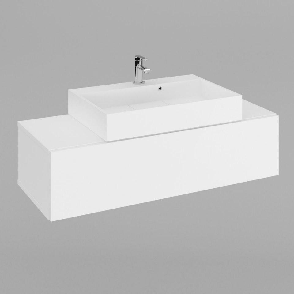 Waschtisch Engi Mit Waschbecken 600  Labi Möbellabi Möbel von Waschbecken Tiefe 35 Cm Bild