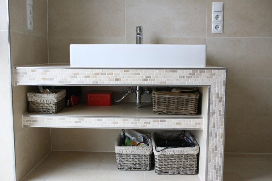 Waschtisch Selber Bauen Finest Waschtisch Badezimmer With von Waschbecken Platte Selber Bauen Photo