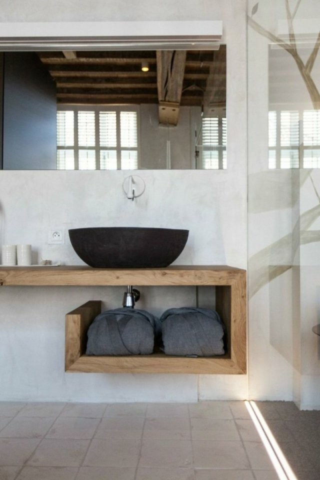 Waschtisch Selber Bauen  So Geht`s  Ausführliche Anleitung In von Unterschrank Für Aufsatzwaschbecken Selber Bauen Bild