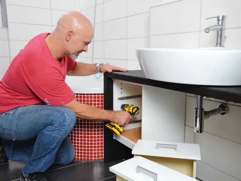 Waschtisch Selber Bauen Und Montieren von Waschbecken Platte Selber Bauen Photo