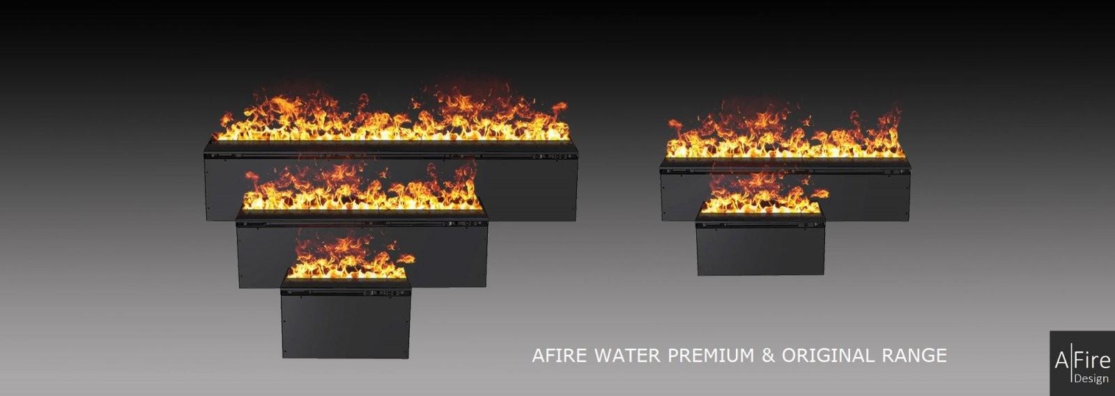 Wasserdampf Kamin  3D Elektrokamin Einsatz Mit Wasserdampf Afire von 3D Elektrokamine Mit Wasserdampf Bild