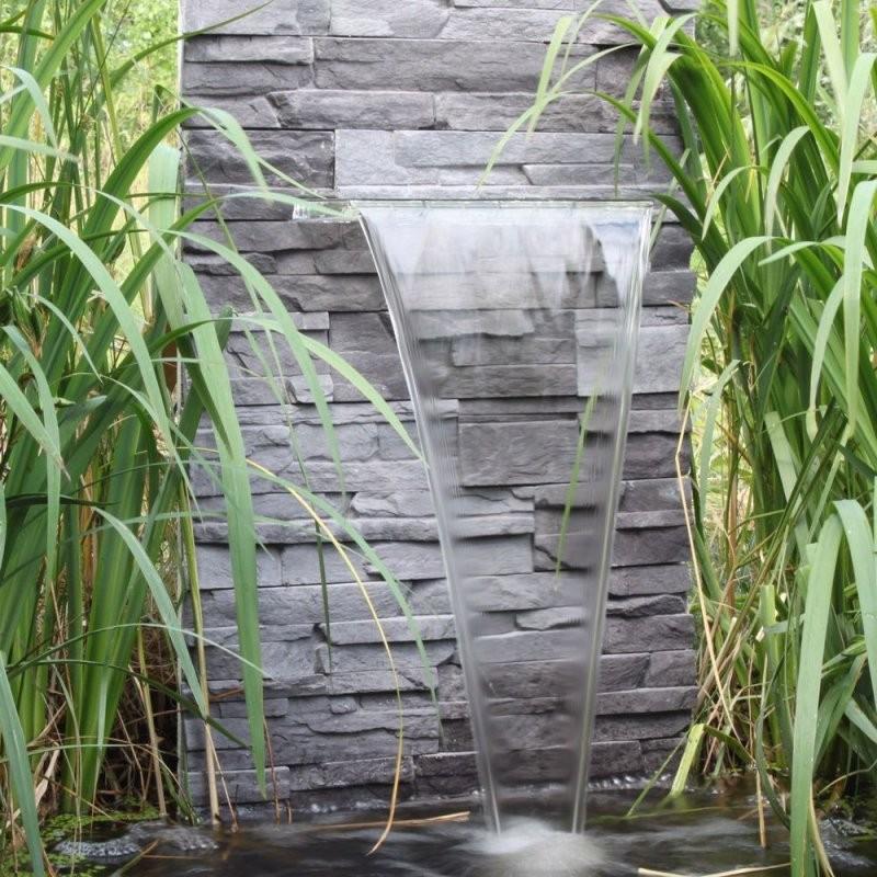 Wasserfall Für Den Garten Teich Gartenteich Zum Selber Bauen von Kleinen Brunnen Selber Bauen Photo