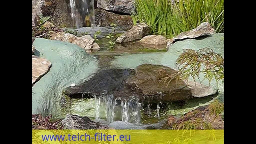 Wasserfall Für Teich Und Garten Selber Bauen  Youtube von Wasserfall Gartenteich Selber Bauen Photo