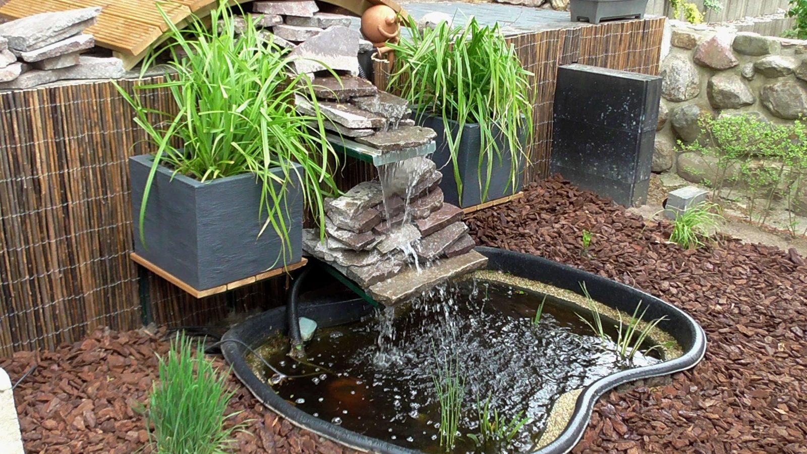 Wasserfall Garten Bauen Anleitung Neu Bachlauf Selber Anlegen Probe von Wasserfall Garten Bauen Anleitung Photo
