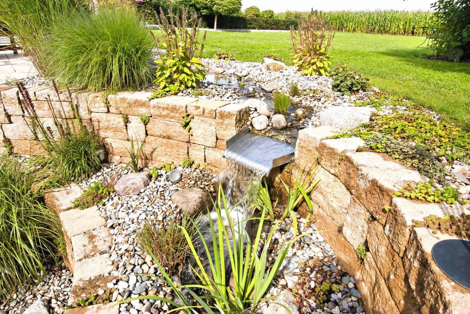 Wasserfall Garten Selber Bauen Einzigartig 57 Einzigartig Mauer von Mauer Wasserfall Selber Bauen Photo