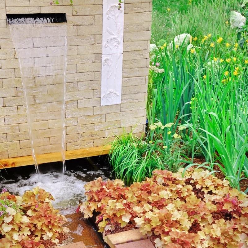 Wasserfall Mit Brunnen Selber Bauen  Die Besten Ideen von Kleinen Brunnen Selber Bauen Bild