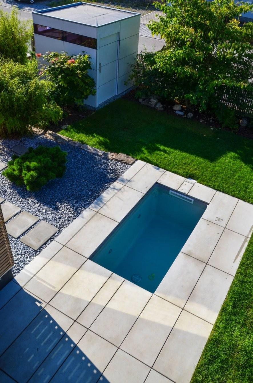 Wat Meersalzwassertauchbecken  Minipool Von Design@garten  Alfred von Mini Pool Im Garten Bild