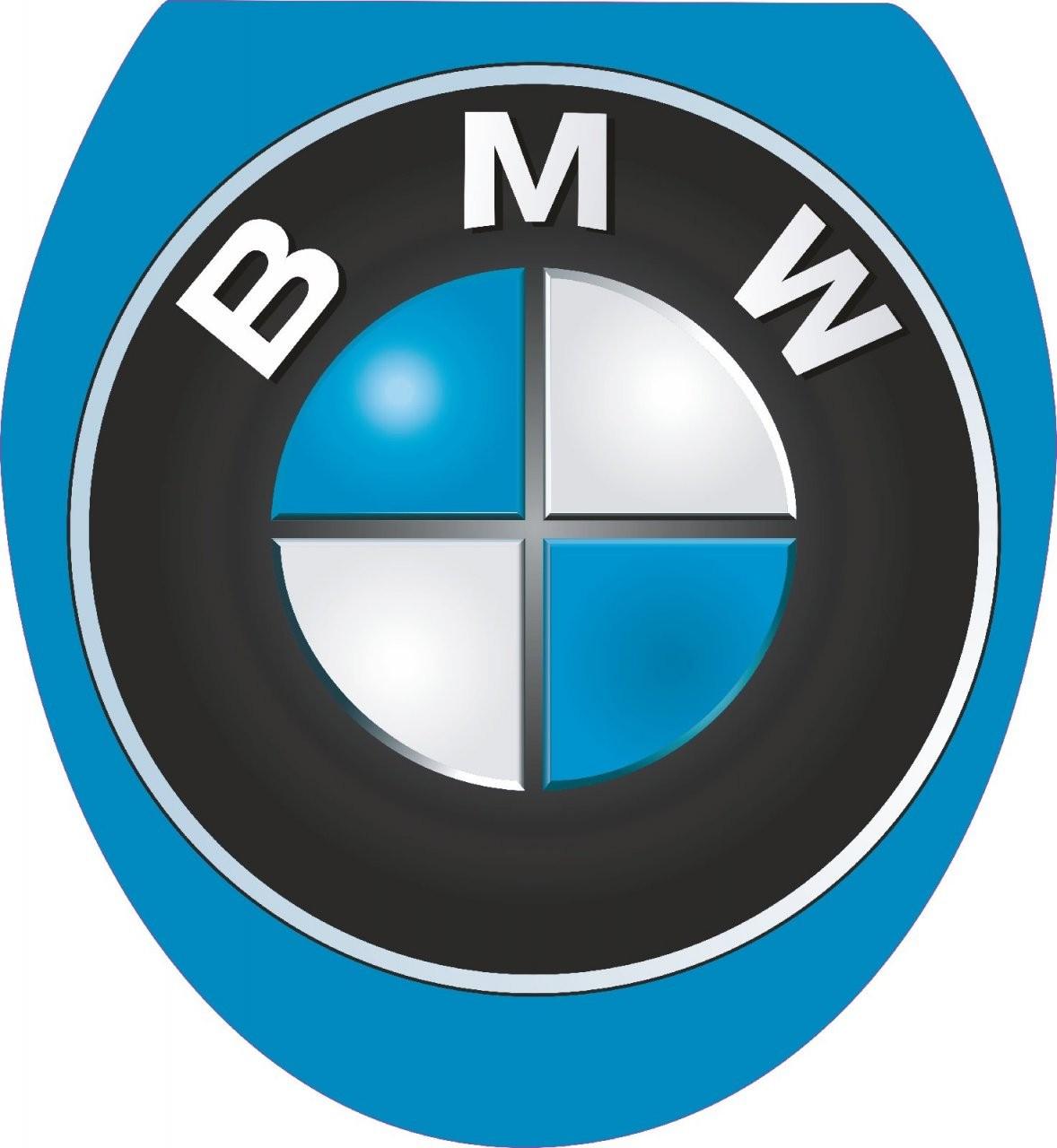 """Wc Sitz Aufkleber """" Bmw """" Folie Dekor Toilettendeckel Auto Sport von Wc Sitz Aufkleber Selber Gestalten Photo"""