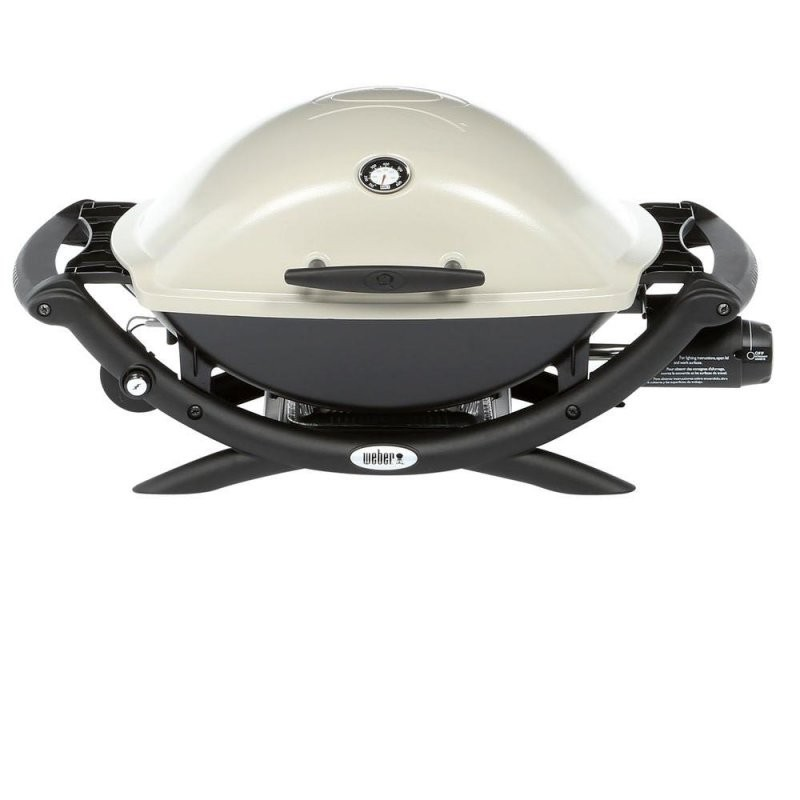 Weber Q 2200 1Burner Portable Gas Grill  Marx Fireplaces  Lighting von Weber Gasgrill Q 2200 Station Photo