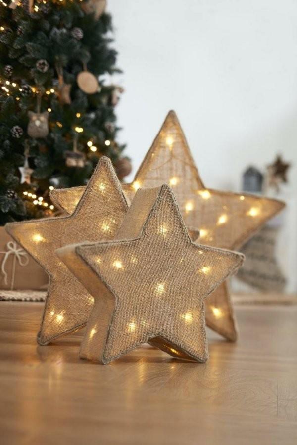 Weihnachtsstern Basteln Mit Beleuchtung  7 Anleitungen Für Diydeko von Bild Mit Beleuchtung Selber Machen Photo