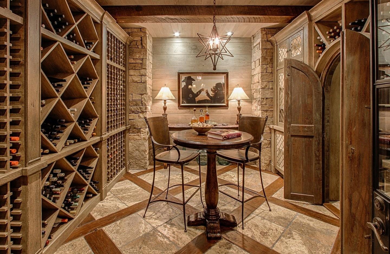 Weinkeller Das Luxuriöse Zuhause Der Besten Weine  Blog von Weinkeller Bauen Selber Machen Bild
