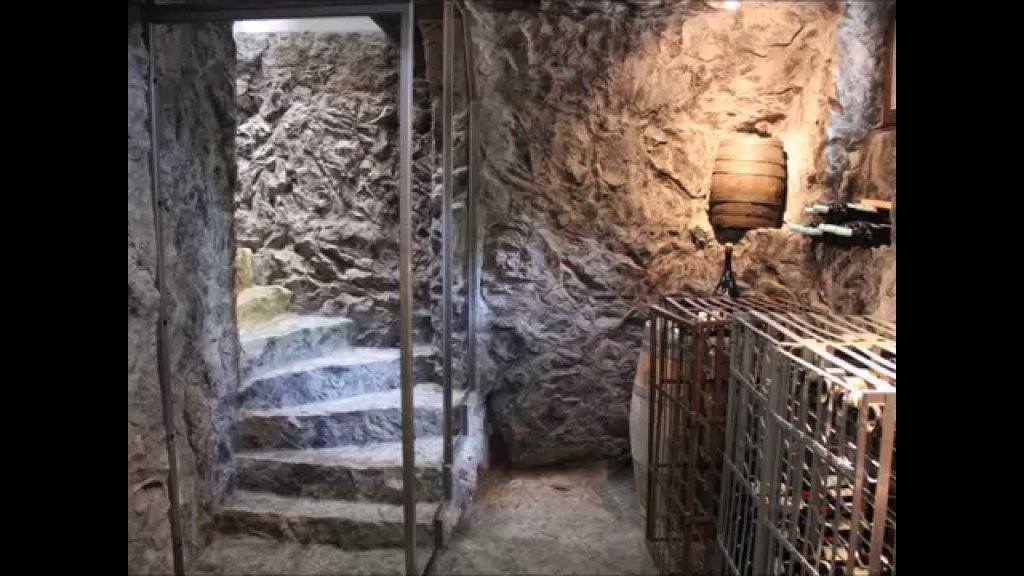 Weinkeller In Felsoptik Mit Kunststein Von Stone Illusion  Youtube von Weinkeller Bauen Selber Machen Photo