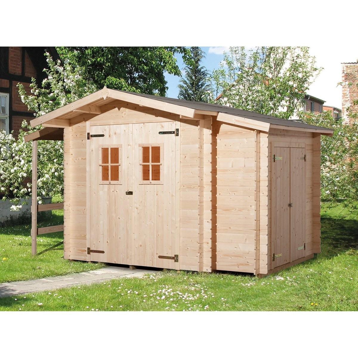 Weka Holzgartenhaus Bologna Natur B X T 340 Cm X 200 Cm Davon 140 von Gartenhaus Selber Bauen Video Photo