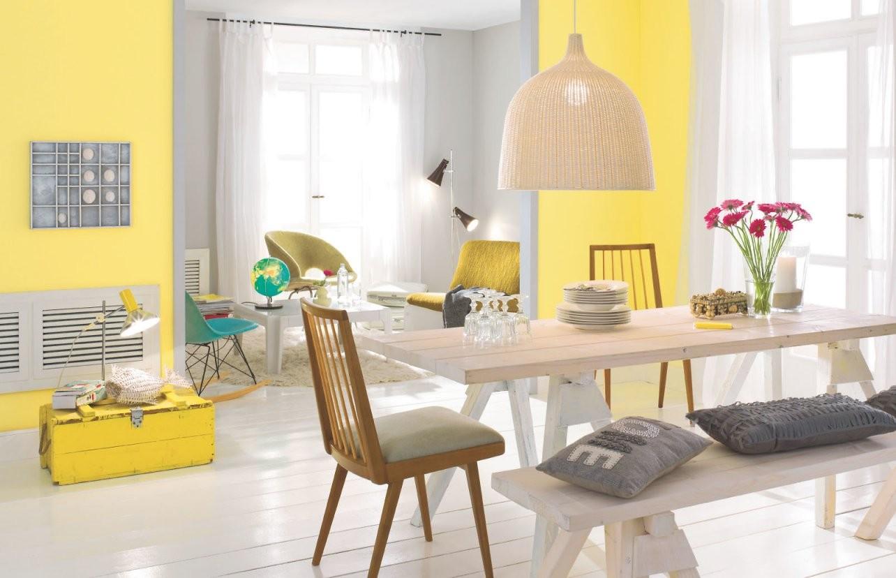 Welche Farben Passen Zusammen Alpina Farbe  Wirkung von Welche Wandfarbe Passt Zu Grauen Möbeln Bild