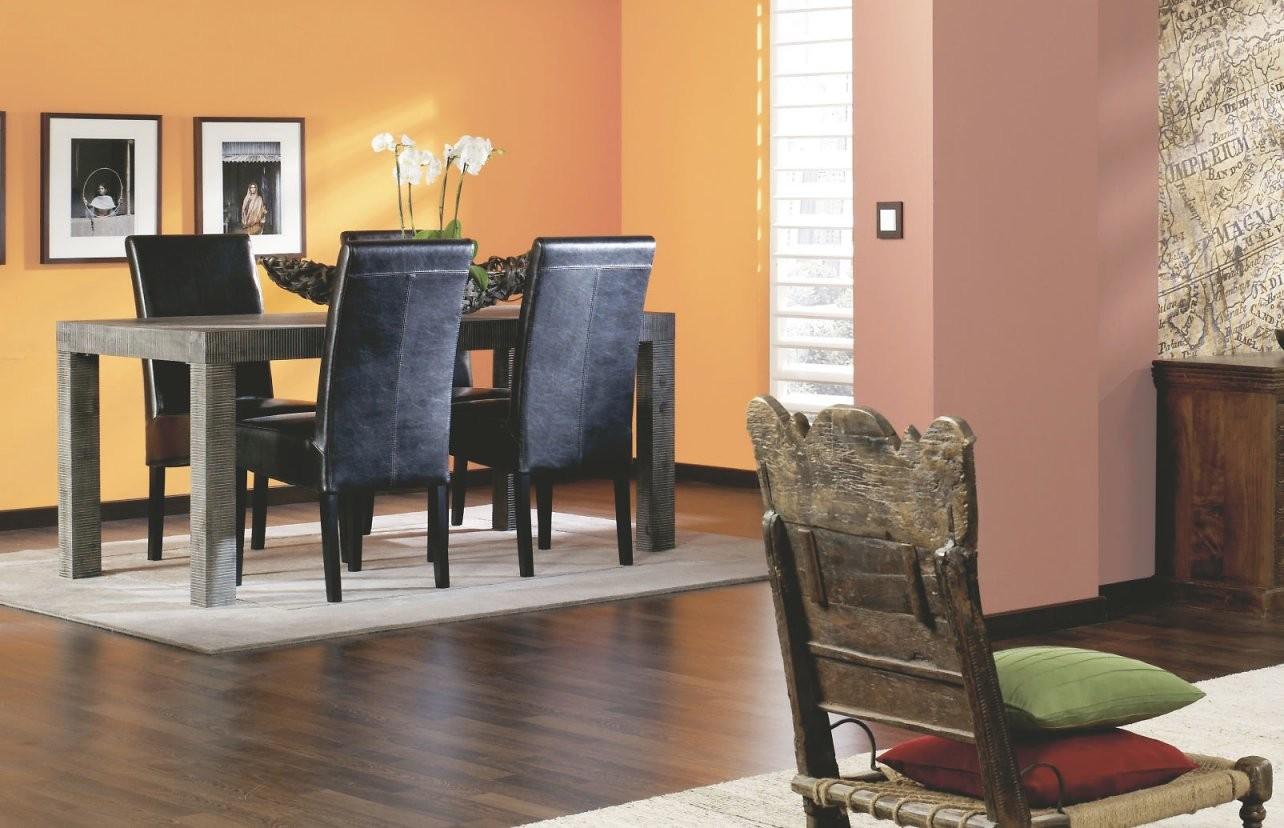 Welche Wandfarbe Zu Welchem Holzfarben Passt Alpina Farbe  Einrichten von Holzdecke Mit Wandfarbe Streichen Bild
