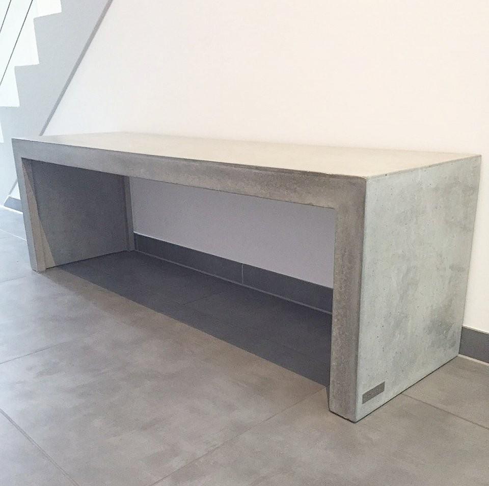 Welchen Beton Kann Ich Zur Herstellung Von Betonmöbeln Verwenden von Arbeitsplatte Betonoptik Selber Machen Bild