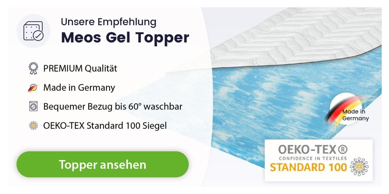 Welcher Topper Ist Der Richtigebeste Für Mich Topper Testsieger 2019 von Matratzen Topper Stiftung Warentest Bild