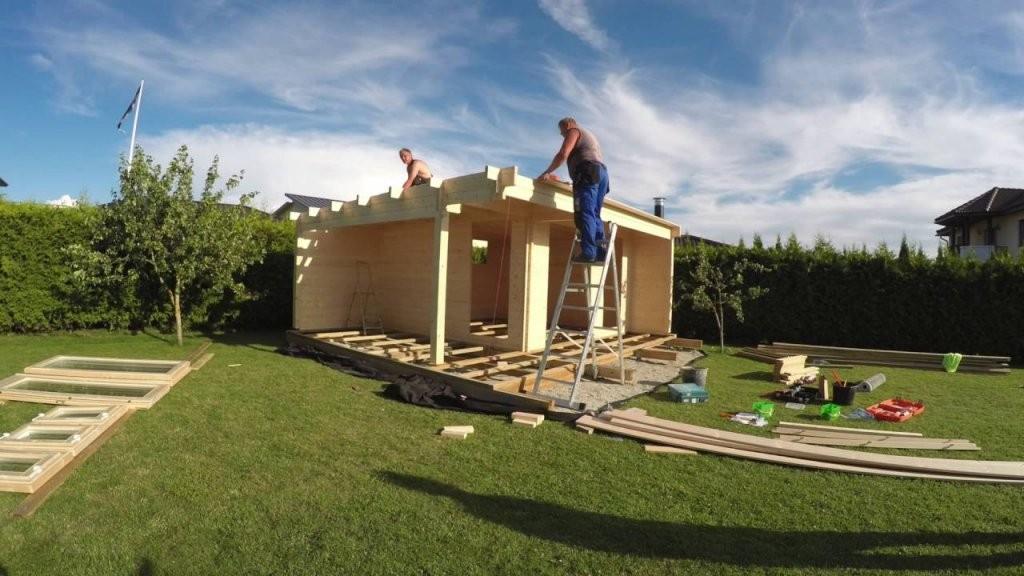 Welches Ist Der Einfachste Weg Ein Hölzernes Gartenhaus Zu Bauen von Gartenhaus Selber Bauen Video Photo